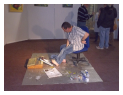 artiste salon arts et handicaps