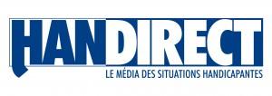 Logo HANDIRECT bleu