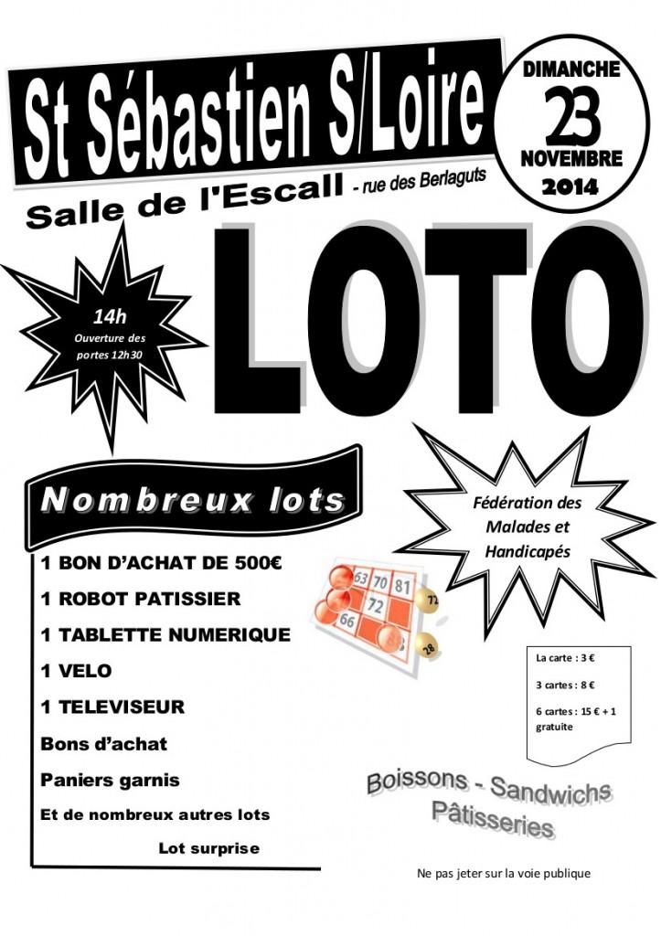 affiche loto 2014-2
