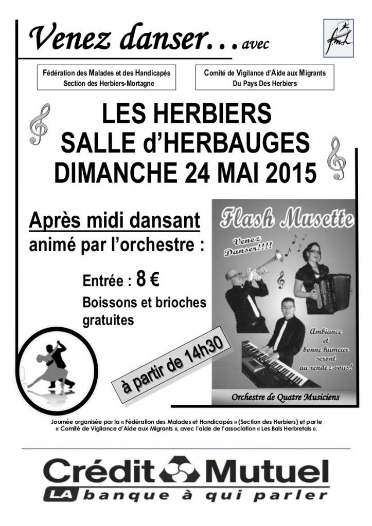 APRES MIDI DANSANT LES HERBIERS