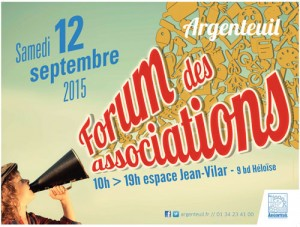 forum des associations argenteuil 2015