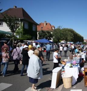 marché aux puces de la Meinau - Strasbourg