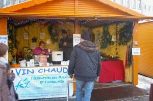 La FMH au marché de Noël de Strasbourg
