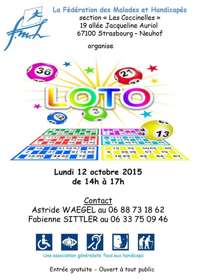 Loto Strasbourg octobre 2015