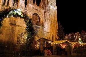 chalets de noel cathédrale rouen
