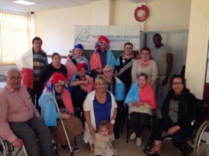 Equipe Fédération des Malades et Handicapés Rouen
