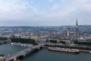 Fédération des Malades et Handicapés de Rouen en croisière sur la Seine